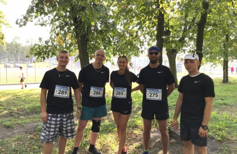 OSI Poland Foodworks - OSI FOODWORKS Team in Run with the Police
