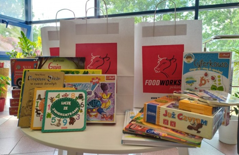 OSI Poland Foodworks - Books, puzzles and games for hospitals and orphanages