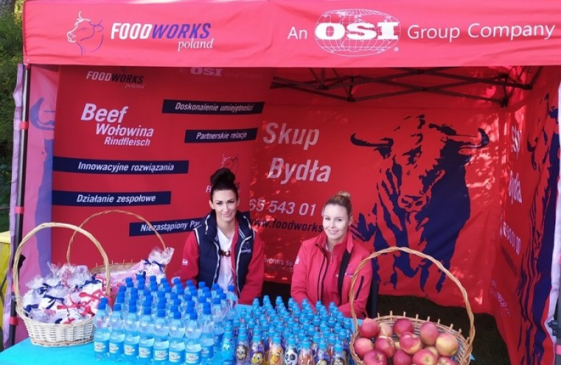 "OSI Poland Foodworks - Run along ""Dziczek"" in Góra"
